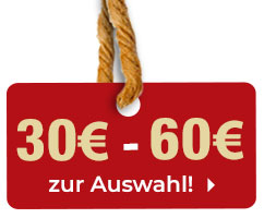 Geschenkideen bis 60 Euro