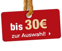 Geschenkideen bis 30 Euro