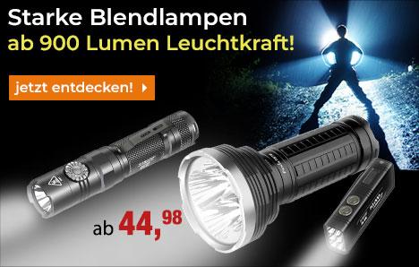 Starke Taschenlampen