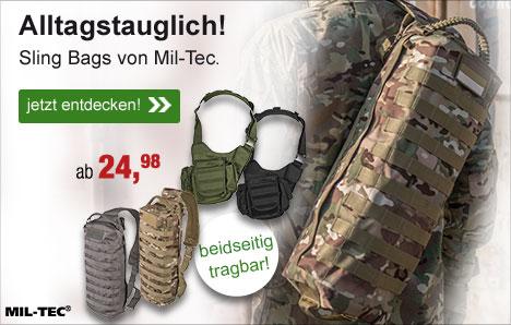 Mil-Tec Sling Bags!