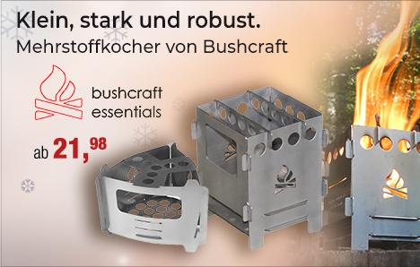 Bushcraft Mehrstoffkocher